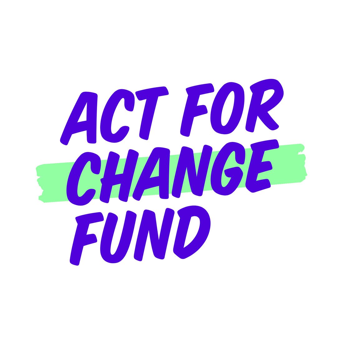 Act for Change Fund logo